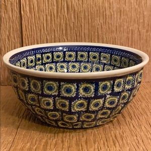 Beautiful Polish Pottery Bowl